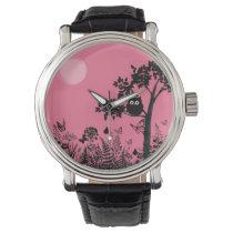 the owl wrist watch