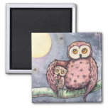 The Owls and the Moon Magnet