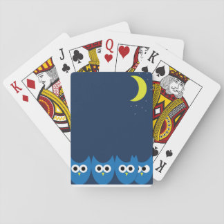 The Owls Poker Cards