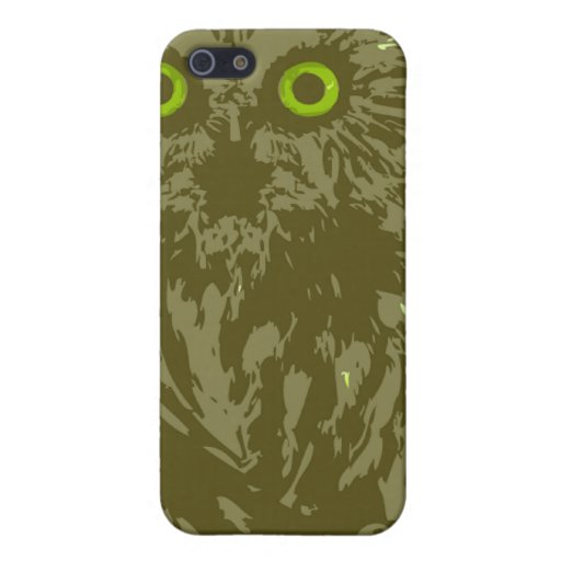 The Owl's Wisdom iPhone 5 Cover