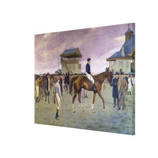 The Owner's Enclosure, Newmarket Gallery Wrapped Canvas