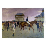 The Owner's Enclosure, Newmarket Greeting Card