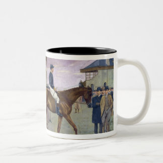 The Owner's Enclosure, Newmarket Two-Tone Coffee Mug