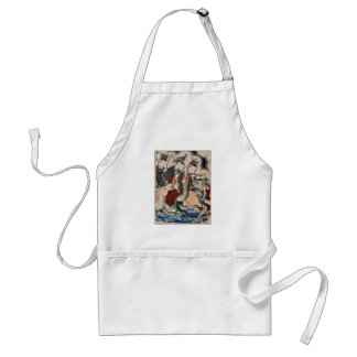 The Ox Figure of the Chinese Zodiac Wall Painting Adult Apron