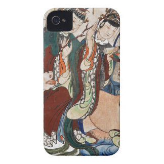 The Ox Figure of the Chinese Zodiac Wall Painting Case-Mate iPhone 4 Case