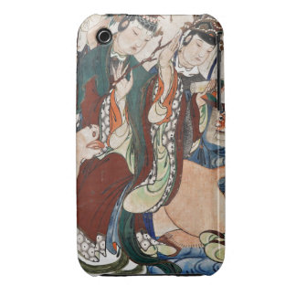 The Ox Figure of the Chinese Zodiac Wall Painting iPhone 3 Case