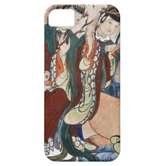 The Ox Figure of the Chinese Zodiac Wall Painting iPhone SE/5/5s Case