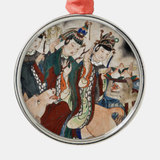 The Ox Figure of the Chinese Zodiac Wall Painting Metal Ornament