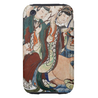 The Ox Figure of the Chinese Zodiac Wall Painting Tough iPhone 3 Case