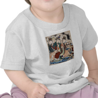 The Ox Figure of the Chinese Zodiac Wall Painting T-shirt