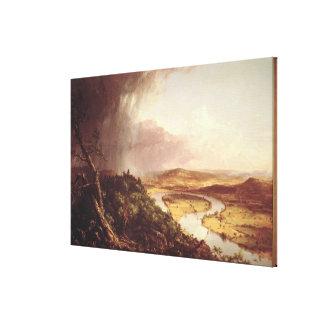 The Oxbow  1836 Canvas Print