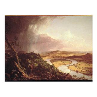 The Oxbow  1836 Postcard