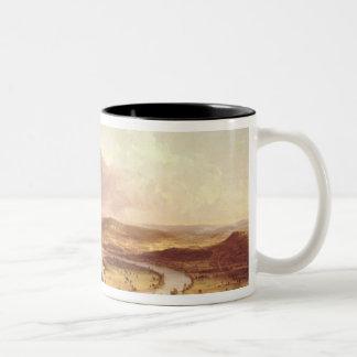 The Oxbow  1836 Two-Tone Coffee Mug
