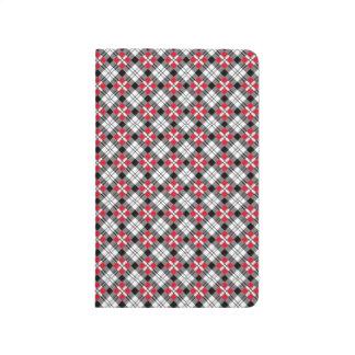 The Oxford Plaid Pocket Journal