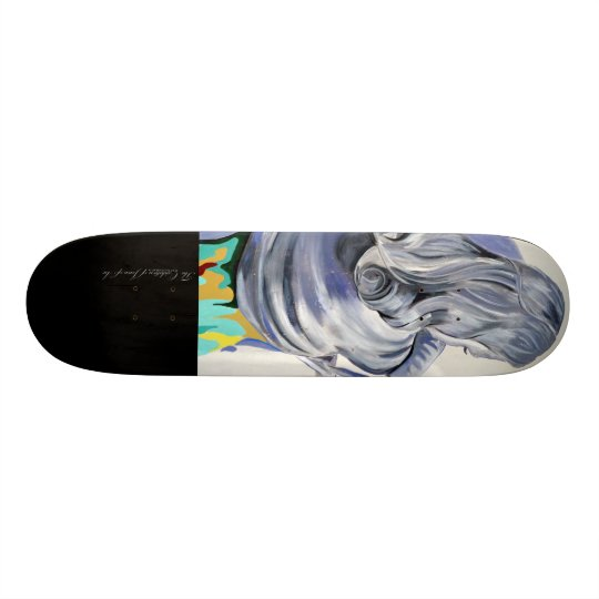 The Oxidation of Joan of Arc- Skate Deck