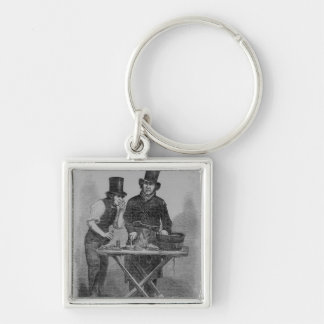 The Oyster Stall Keychain