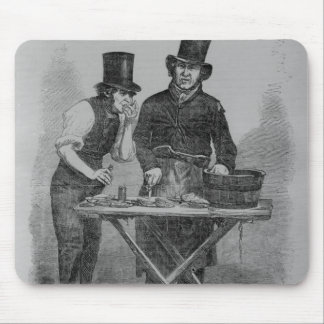 The Oyster Stall Mouse Pad