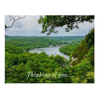 The Ozarks Postcard