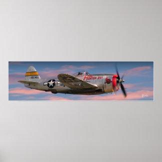 """The P-47 JUG"" Poster"