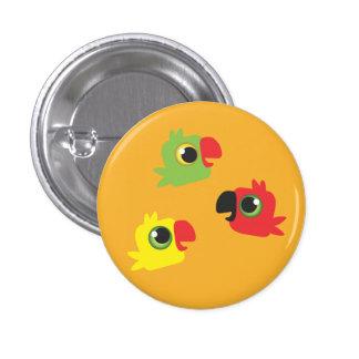 the p' tits Tocas Pinback Button