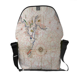 The Pacific Chart Messenger Bags