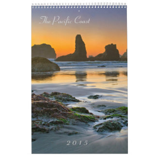 The Pacific Coast 2015 - Seals and Scenics Wall Calendar