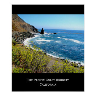 The Pacific Coast Highway Print