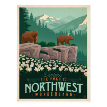 The Pacific Northwest | United States Postcard