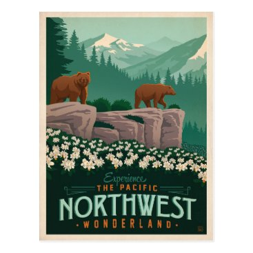 AndersonDesignGroup The Pacific Northwest | United States Postcard