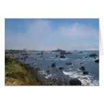 The Pacific Ocean, as Seen from Crescent City, CA Cards