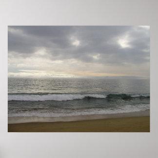 The Pacific Ocean - Pacific Ocean Print