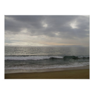 The Pacific Ocean - Pacific Ocean Poster