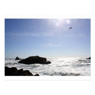 The Pacific Ocean Postcard