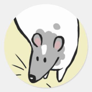 The Pack Rat Logo Sticker