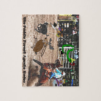 The paddle forest agents rodeo jigsaw puzzle