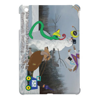 The paddle forest agents snowman building party iPad mini cover