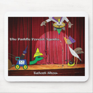 The paddle forest agents talent show mouse pad