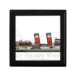 The Paddle Steamer Waverley by Tony Fernandes Jewelry Box