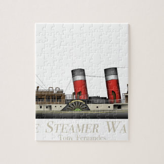 The Paddle Steamer Waverley by Tony Fernandes Jigsaw Puzzle