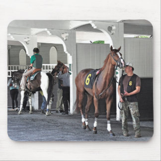The Paddock at Belmont Park Mouse Pad