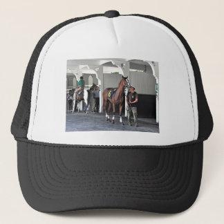 The Paddock at Belmont Park Trucker Hat