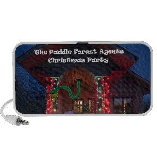 The padle forest agents christmas party speaker system