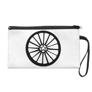 The Pagan Wheel handbag Wristlet