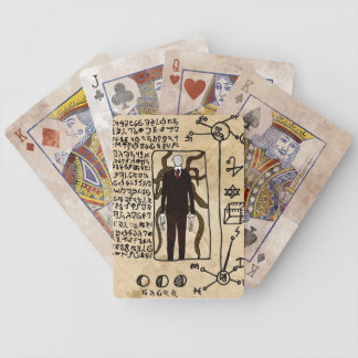 The Pages of the Necronomicon Bicycle Playing Cards