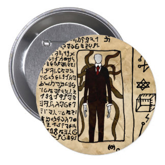 The Pages of the Necronomicon 3 Inch Round Button