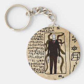 The Pages of the Necronomicon Keychain