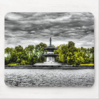 The Pagoda Mouse Pad