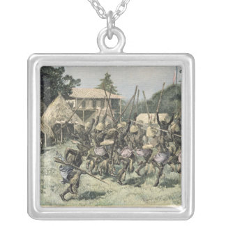 The Pai-Pi-Bri at the Jardin d Acclimatation Silver Plated Necklace