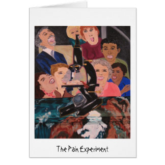 The Pain Experiment notecard