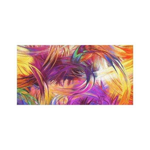 The Paint 35.56cm x 27.94cm, 3.81cm, Single Stretched Canvas Prints